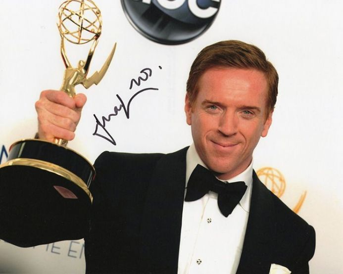 Damian Lewis, Homeland, signed 10x8 inch photo.